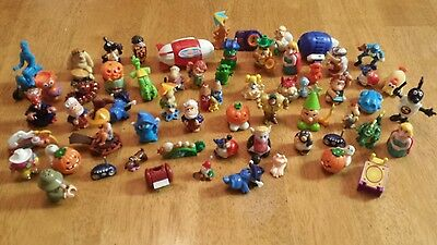 Lot of 60 Kinder Egg Surprise includes lot of VINTAGE pieces