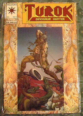 Turok Dinosaur Hunter # 1 Valiant (1993 Acclaim Comics)
