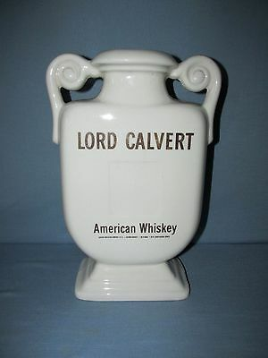 Lord Calvert American Whiskey Store Display Bottle Gold Lettering