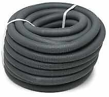 10m Caravan / Motorhome Waste Water Pipe 28.5mm ID Convoluted Grey Hose 10 Metre