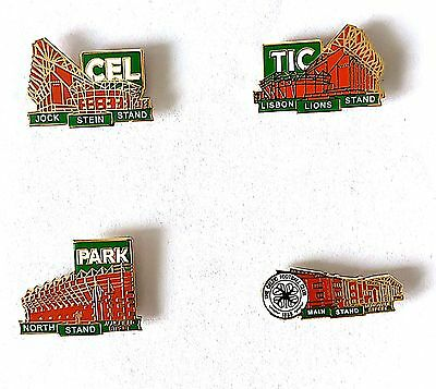 Celtic Stands 4 Piece Badge Set