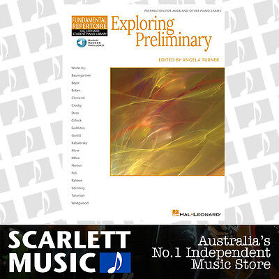 Exploring Preliminary Piano Book Hal Leonard w/ Online Audio Access *BRAND NEW*