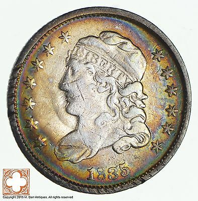 1835 Capped Bust Half Dime *1920