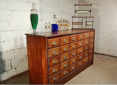 30 Drawer American Apothecary Country Store Drug Store Cabinet 1900's ?