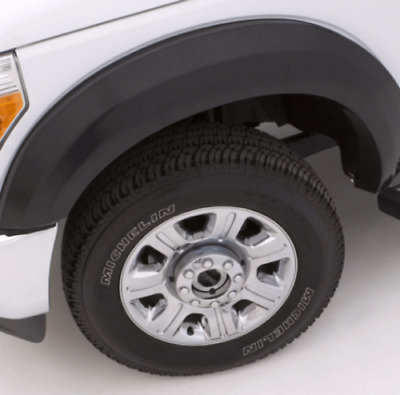 Lund EX129S Set of 4 Smooth Black Extra-Wide Fender Flares for F-450 Super Duty