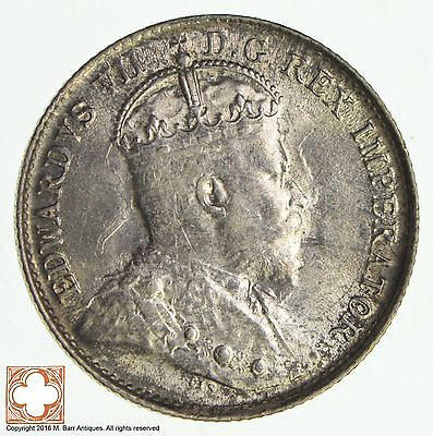 1902 Canada 5 Cents Small H *8554
