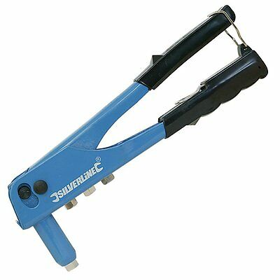 Silverline 868792 Hand Riveter, 250 mm by Silverline Sold By Sportsbits UK