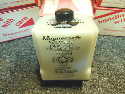 Magnacraft w211acpsrx-5 120VAC 0.1-10 seconds solid state time delay relay