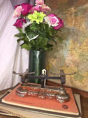 French Small Metal Scale//Antique//Vintage