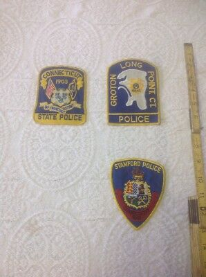 Connecticut Police Patches