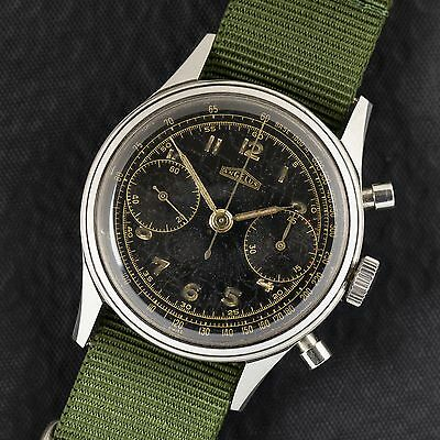 Rare Vintage Angelus Military Chronograph for Hungarian Army / Ca.1952