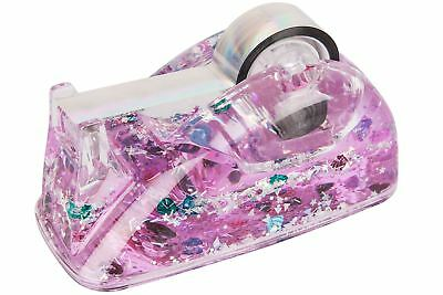 NPW Mermazing Mermaid Magical Ocean Tape Dispenser Glitter Filled