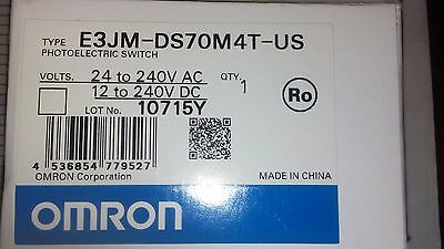 New Omron E3Jm-Ds70M4T-Us Photoelectric Switch