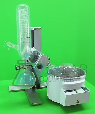 Buchi R-3 Rotary Evaporator with Bath & 2L Receiving Flask 1L Collection Flask