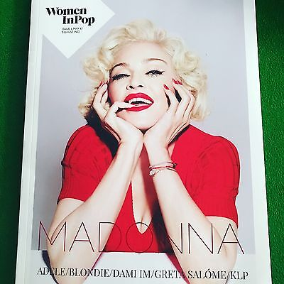 madonna on the cover magazine woman in pop rebel heart tour 2017