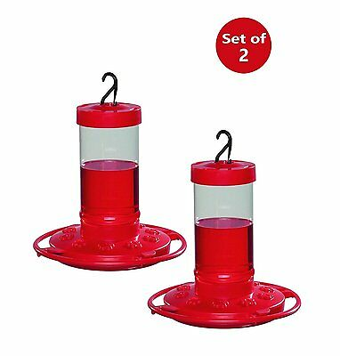 2-Pack First Nature 16oz Hummingbird Feeder 3051
