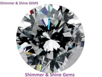 Hearts & Arrow Lab Created Loose Round Diamond 1-12MM FREE & FAST DELIVERY!