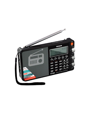Tecsun PL880 Portable Digital PLL Dual Conversion AM/FM/SW/LW/SSB DSP Radio