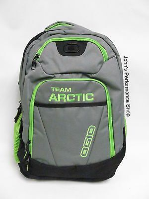 2018 Arctic Cat Gray & Green Ogio Tribune Backpack / Book Bag 5282-904