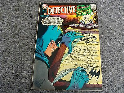 "Detective Comics #366 (1967) ""The Round Robin Death Threats!"" * 7.5 * VF- *"