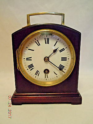 Mahogany French Desk Clock by Duverdrey & Bloquel sold by J.E. Caldwell & Compan