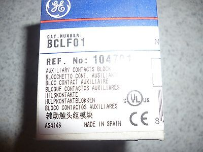 GENERAL ELECTRIC GE BCLF01 104701 Auxiliary Contact Block