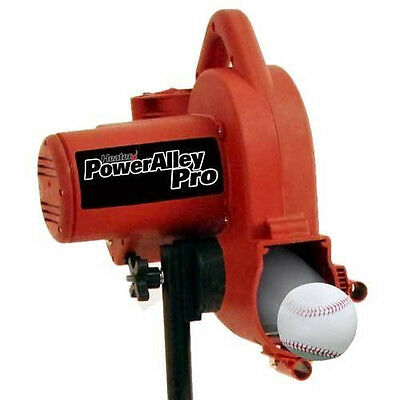 Pitching Machine Real Ball Power Alley Pro fastballs Grounders Pop Ups