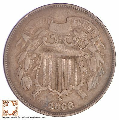 1868 Two Cent Piece *YB23