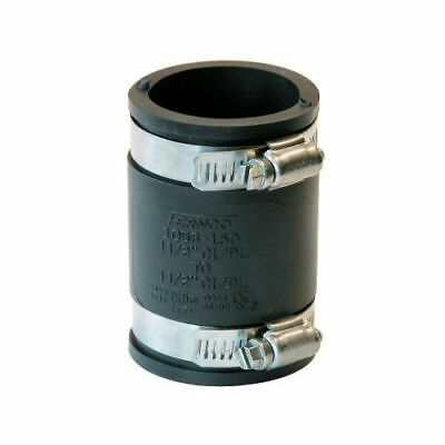 "Flexible Rubber Pipe Fitting Straight Connector Coupling 4"" 3"" 2"" 1.5"" 1.25"""