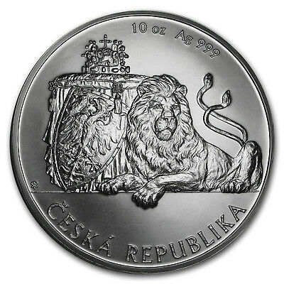 2017 Niue 10 oz Silver Czech Lion BU - SKU#152215