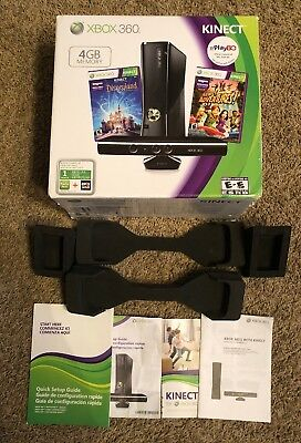 Xbox 360 S 4Gb Kinect ☆ Empty Box & Inserts Only - No Console ☆ Ships Today!