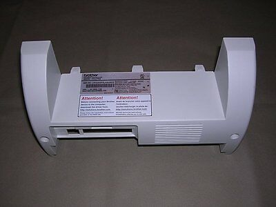 Rear Cover Panel from Brother IntelliFAX FAX4750e Monochrome Laser Fax/Copier