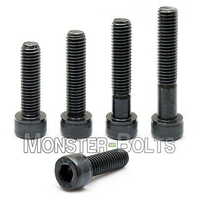 "1/4""-20  Socket Head Caps Screws, Alloy Steel w/ Thermal Black Oxide SAE Coarse"