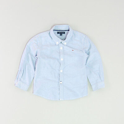 Camisa color Azul marca Tommy Hilfiger 18 Meses