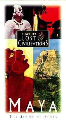 Time Life Lost Civilizations Maya VHS Kings' Blood Astrology Math Priest Warrior