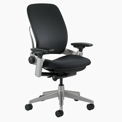Leap Chair V2 w/Platinum Base/Frame -Open Box - Steelcase