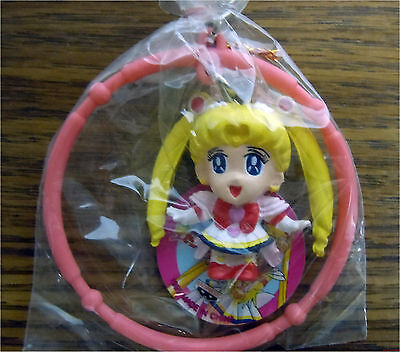 1995 Banpresto Japan Sailor Moon S Super PVC Keychain Key Chain Figure New