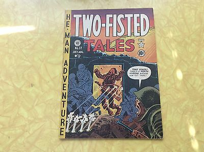 Two-Fisted Tales #22.  Very Nice Copy