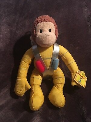New Curious George Dressed Astronaut.
