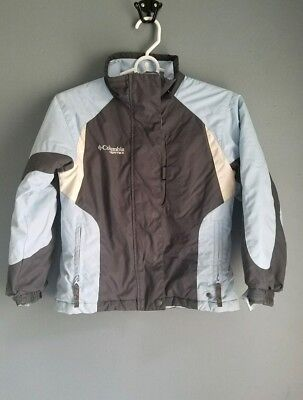 Columbia boys jacket size 7-8 blue and gray