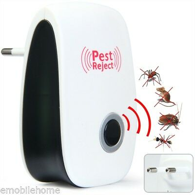 Electronic Pest Repeller Ultrasonic Rejector for Mouse Bug Mosquito Insect etc