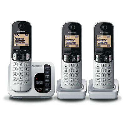 Panasonic KX-TGC223ALS Cordless Phone (TRIPLE) with GEN PANASONIC WARR