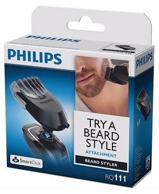 New Philips Smart Click Beard Styler Attachment Rq111/51