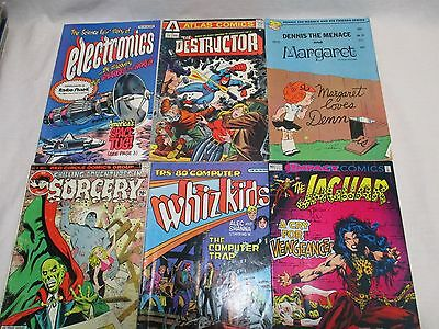 Lot of 6 Misc Comic Books including Atlas, Impact, Red Circle, Fawcett, etc.