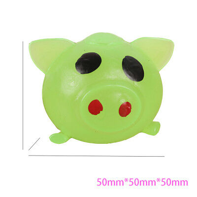 1 x Anti-stress Decompression Splat Ball Vent Toy Smash Various Styles Pig Toys