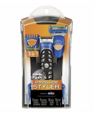 New Gillette Fusion Pro Glide Styler Styler