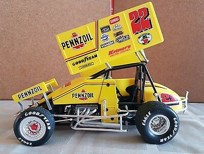 Jac Hadusenchild  Pennzoil Sprint Car 1:18 (Signed) downsizing collections