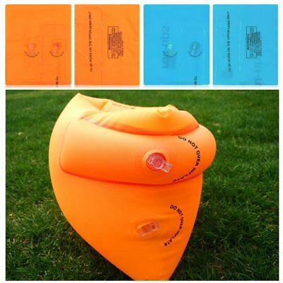 Kids Child Adult Inflatable Safety Secure Water Pool Swimming Arm Bands Floats~