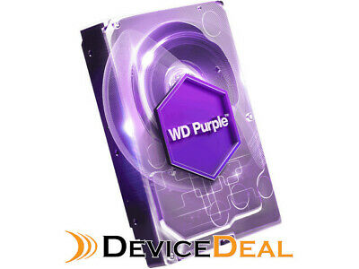 "WD WD60PURZ 6TB Purple 3.5"" SATA3 Surveillance Hard Drive - Replacement for WD60"