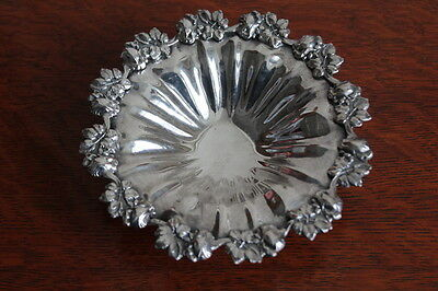 Wonderful Ornate Quality Silver Plated Dish - Italy -